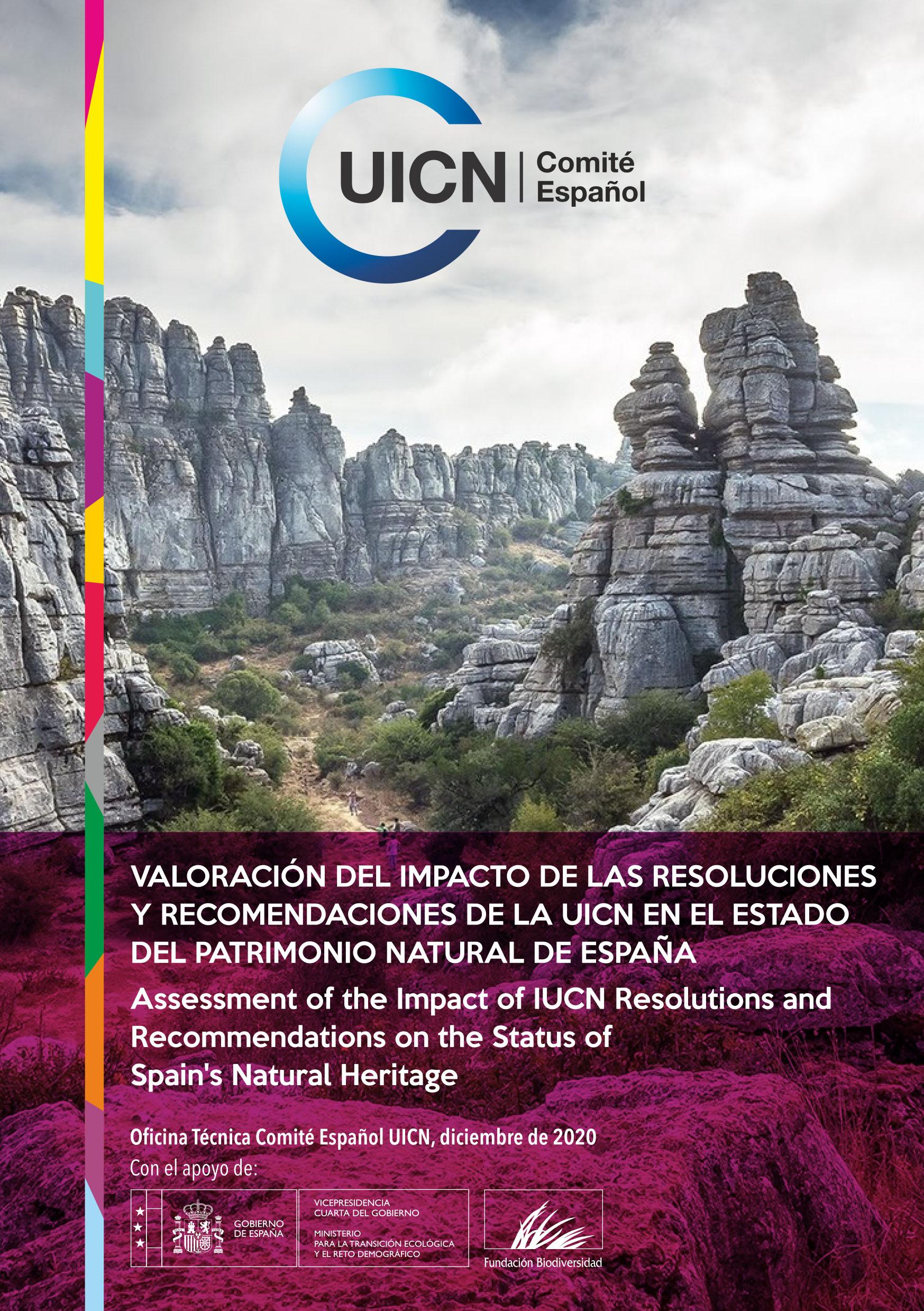 Valoración del impacto de las Resoluciones y Recomendaciones de la UICN en el estado del patrimonio natural de España.